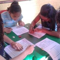 PROJOVEM ADOLESCENTE - ATIVIDADE DE RACIOCINIO LOGICO