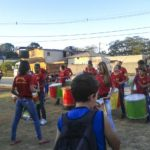 Apresentação grupo de percussão