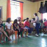 DINAMICA SOBRE SAÚDE NA ADOLESCÊNCIA COM EQUIPE DO POSTO DE SAÚDE - PREJOVEM